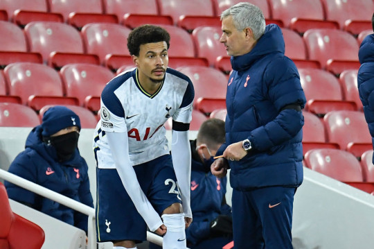 Jose Mourinho failed to see eye-to-eye with the likes of Dele Alli during his Tottenham reign