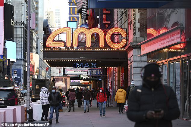 Showtime: The last few days have seen amazing gyrations in the shares of movie chain AMC, one of the meme stocks widely touted on Reddit