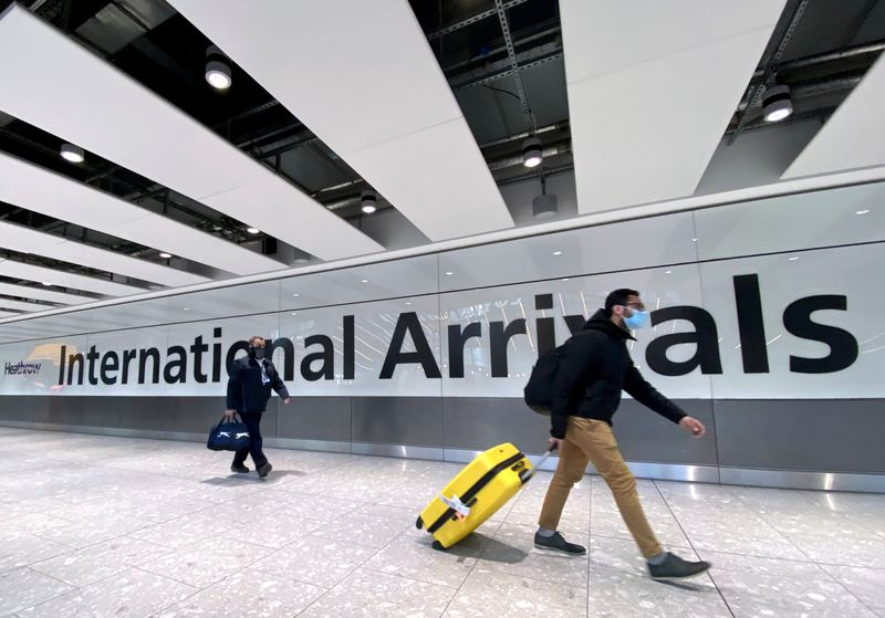 Airline bosses call on UK and U.S. to lift trans-Atlantic travel restrictions