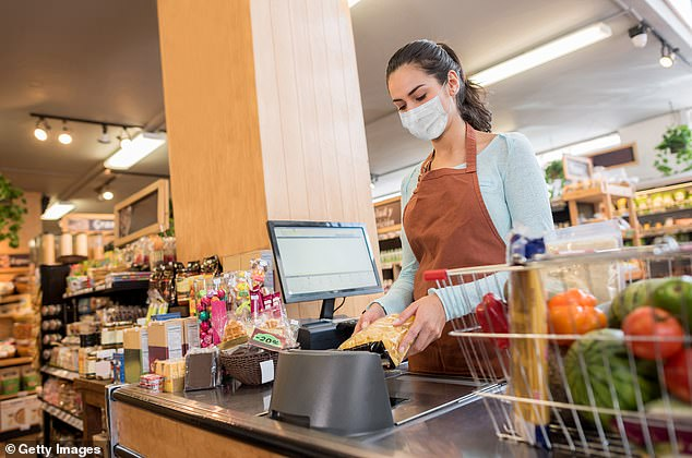 An international team of scientists found these individuals could not afford to stay at home or their profession was impossible to do from home. This included people working in grocery stores