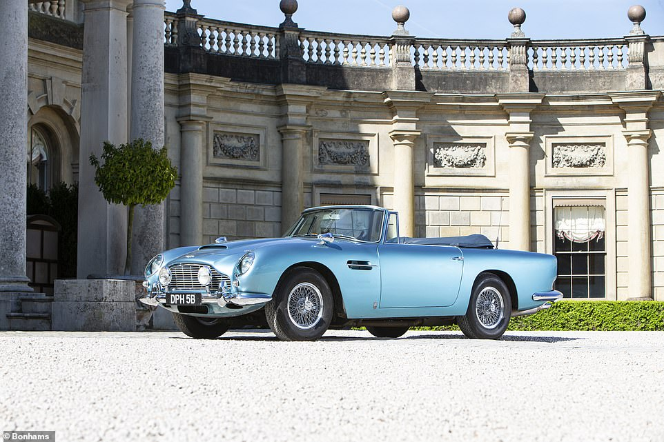 If cars could talk... This 1964 Aston Martin has a host of A-list former owners. It was first bought by Peter Sellers before he sold it to his good friend Lord Snowdon just a few years later. It's now being offered to the highest bidder at a UK auction