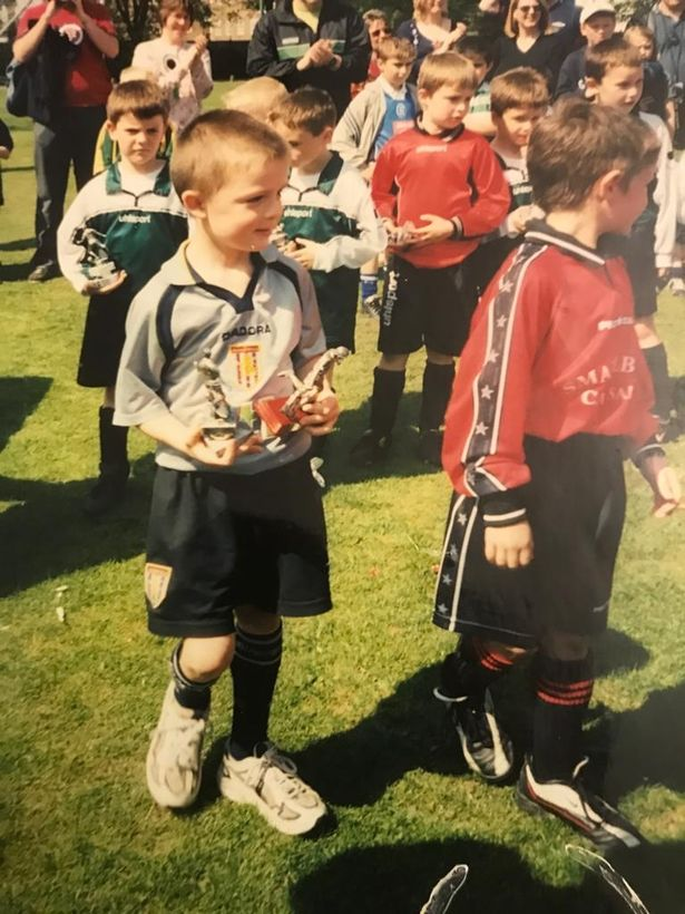 Jack Grealish grew up supporting Aston Villa and was on their books from age nine