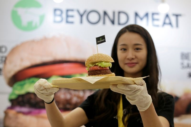 Beyond Meat Up As Amazon Veteran Among New Names At Firm