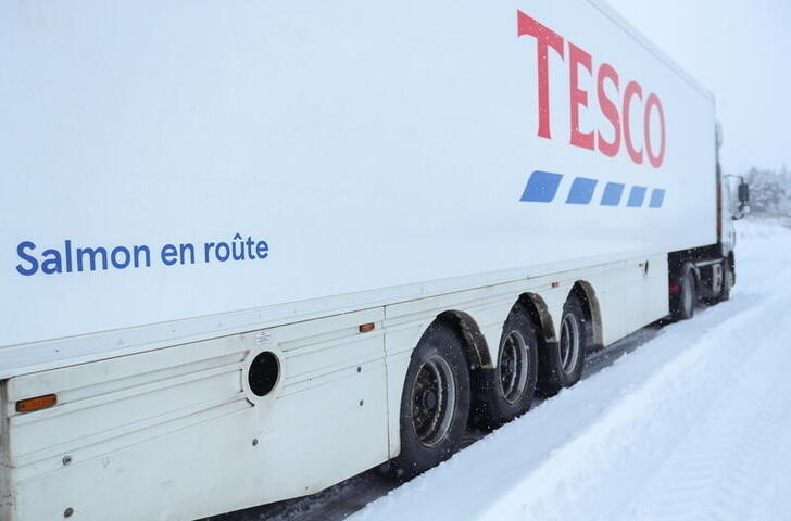 Britain's Tesco is addressing HGV driver shortage - CEO