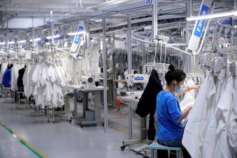 China's services activity growth slows in May - Caixin PMI