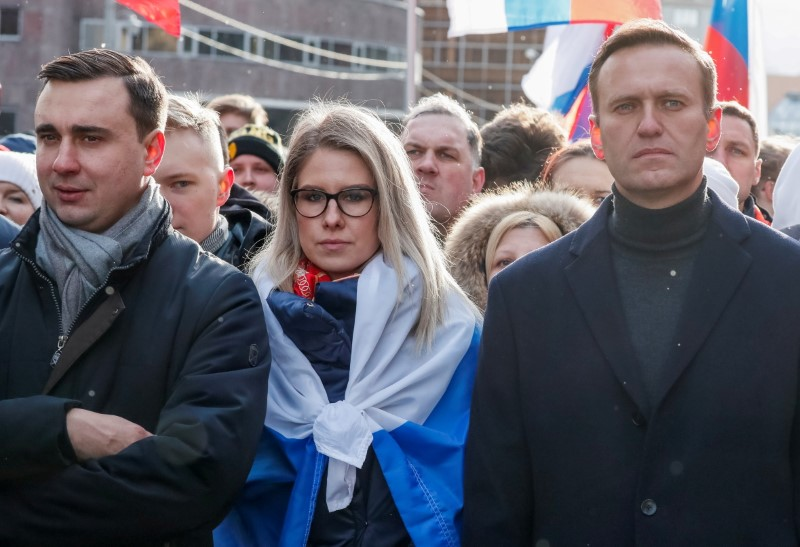 Close ally of Kremlin critic Navalny put on wanted list in Russia