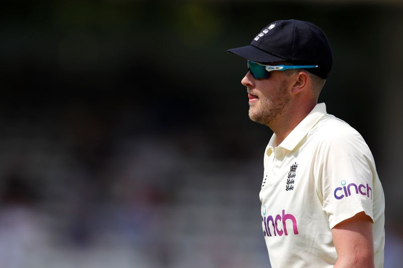 Cricket-England's Robinson suspended by ECB for historic racist, sexist posts