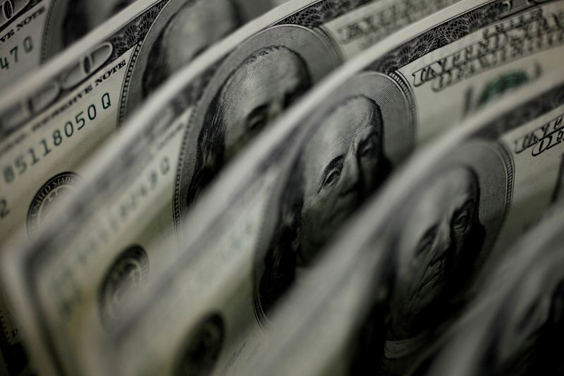 Dollar gets respite from pick up in U.S. manufacturing before jobs report