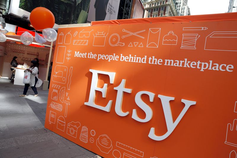 Etsy Rises On $1.62 Billion Depop Deal To Grow Presence in Apparel Resale Space