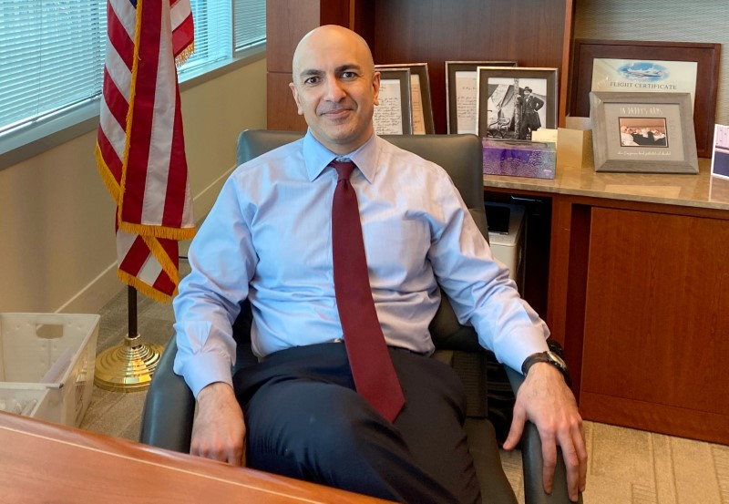 Exclusive: Fed's Kashkari opposed to rate hikes at least through 2023