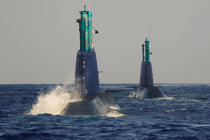 Exclusive - In the belly of the whale: Israeli sub simulates strike