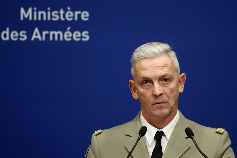 France's army chief Lecointre steps down, replaced by General Burkhard