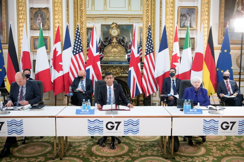 G7 nations near historic deal on taxing multinationals