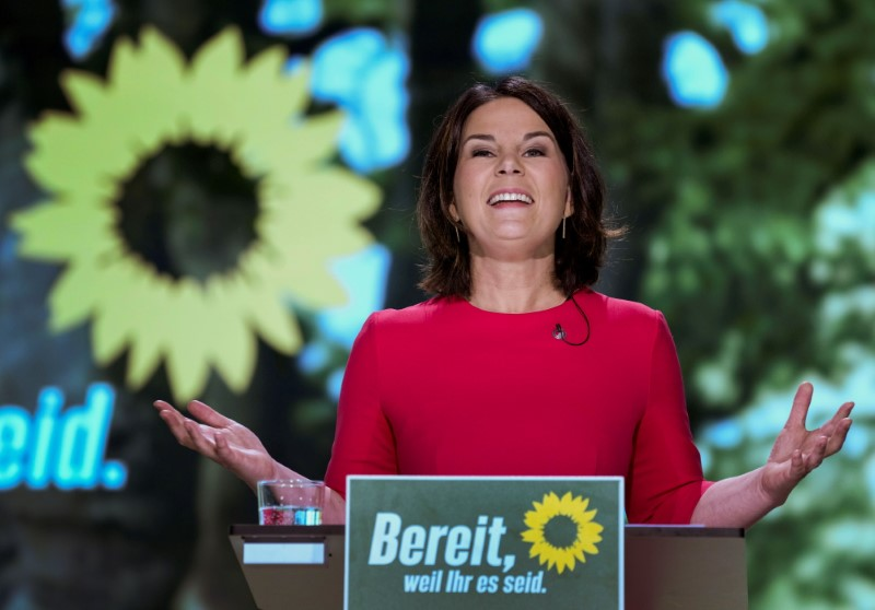 German Green leader wants new policy to aid industry in CO2 reduction