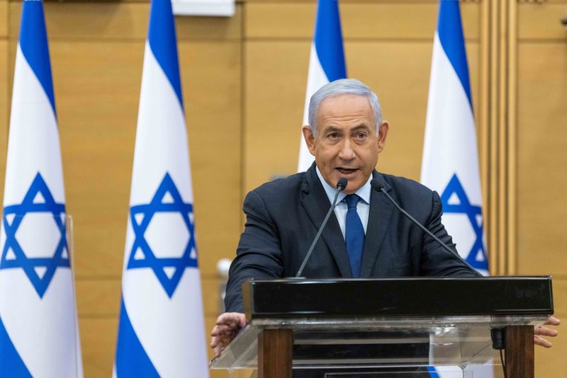 Israel domestic security warns of violence as Netanyahu faces unseating