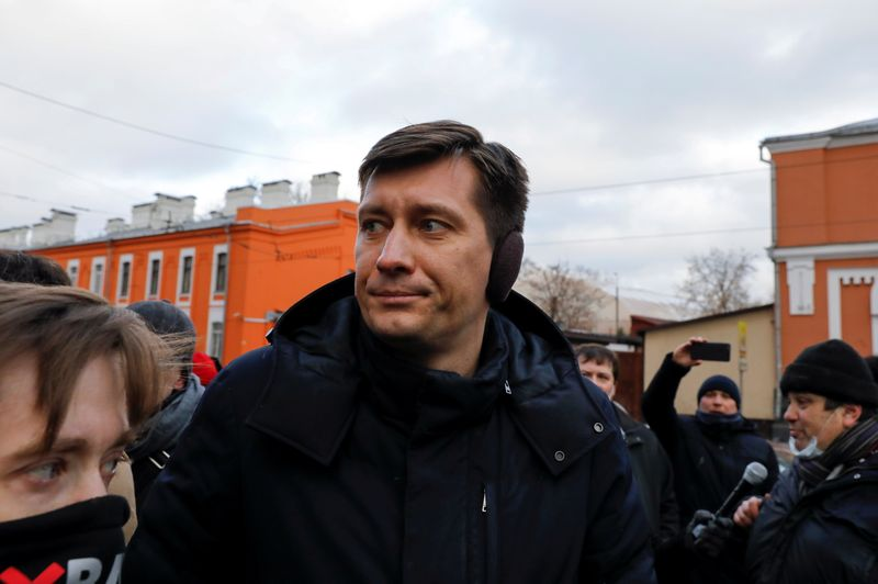 Kremlin critic Dmitry Gudkov says his Russia exit is a tactical retreat