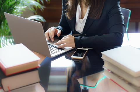 Solicitor working - iStock ID: 927592690