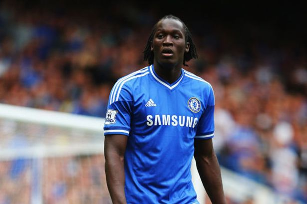 Romelu Lukaku made just one Premier League start during his time at Chelsea