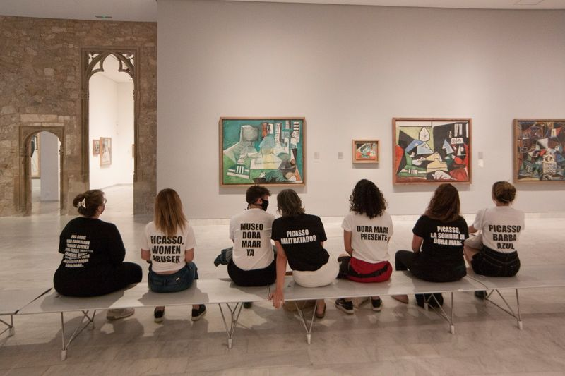 Museum protesters denounce Picasso's treatment of women