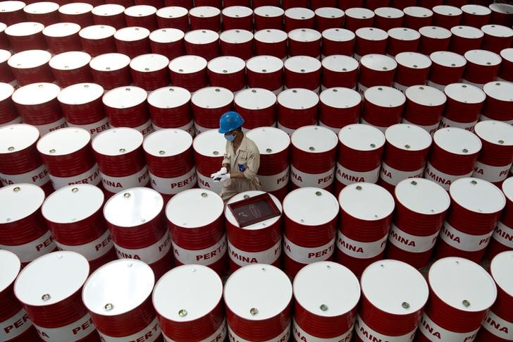 Oil Edges Higher as Report Points to Shrinking U.S. Stockpiles