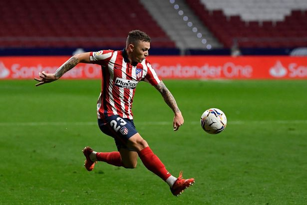 Trippier played a key role in Atletico's title-winning triumph this season