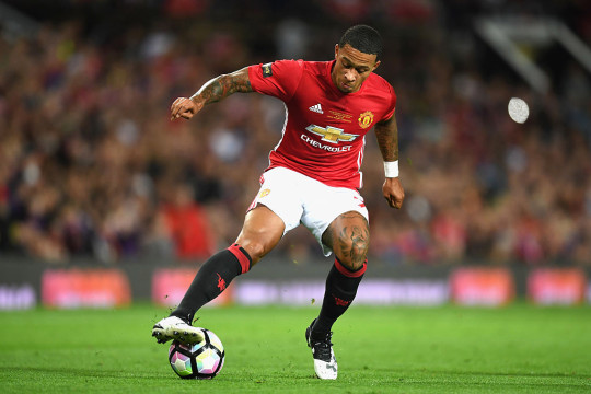 Memphis Depay struggled to make an impact after his £25m move to Manchester United