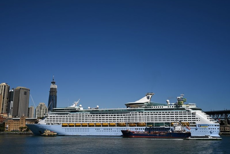 Royal Caribbean Weaker As Two Guests Test Positive On Cruise