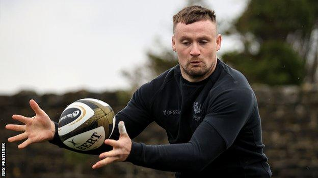 Sean O'Brien was promoted from the academy at Irish club Connacht in 2015