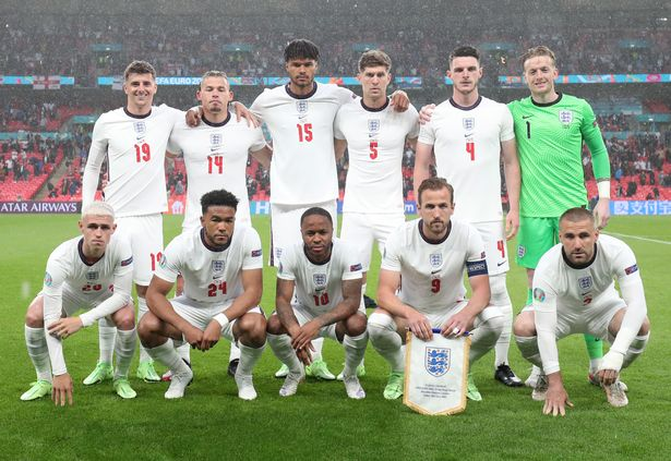 England's XI was their youngest ever at a major tournament