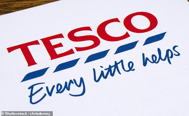 Slowdown: Tesco said its sales in the UK rose by just 0.5 per cent in the three months to May 29 as lockdown restrictions eased