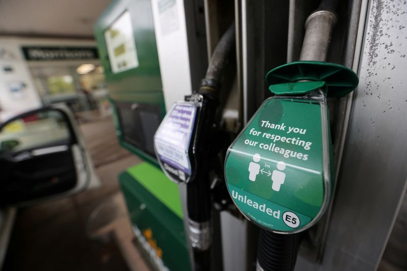 UK petrol prices rise to pre-pandemic levels as lockdown eases