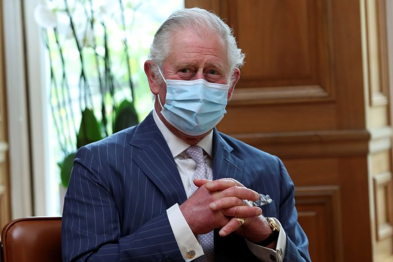 UK's Prince Charles says private sector needed to stand chance of solving climate crisis