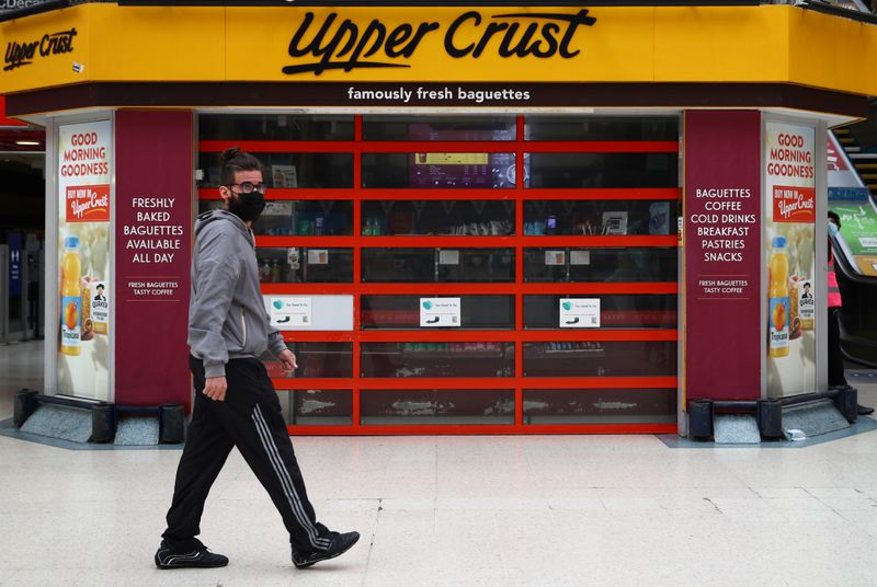 Upper Crust owner's losses balloon on slow travel recovery