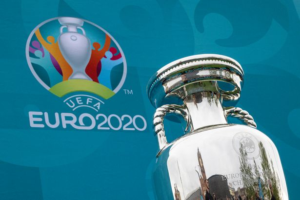 Covid-19 measures are in place at venues during Euro 2020