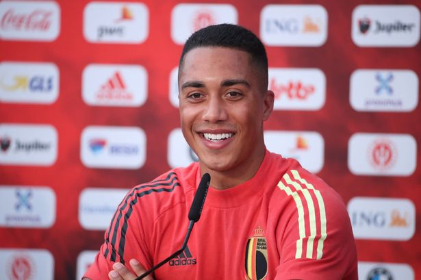Youri Tielemans offered a blunt response to Liverpool transfer talk