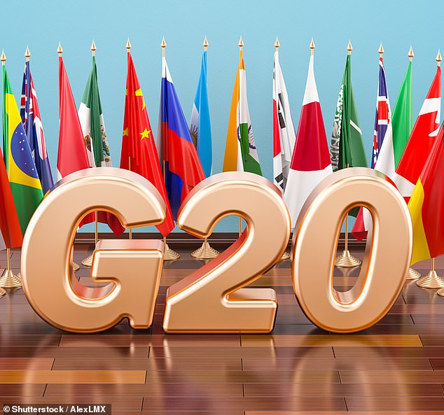 Deal:Ministers from the G20 group of nations said they endorsed a minimum global tax rate of 15 per cent
