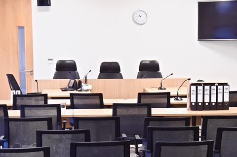 Solicitors Disciplinary Tribunal courtroom
