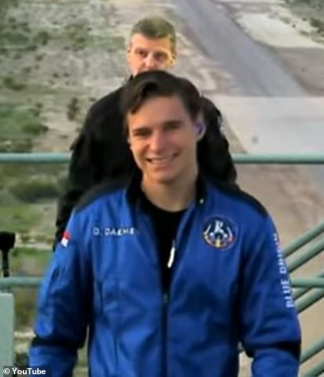 The youngest of the crew and last on board was Oliver Daemen