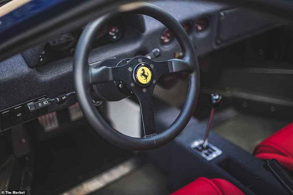 The F40 was sold by The Market, which was recently bought out by esteemed auction house Bonhams