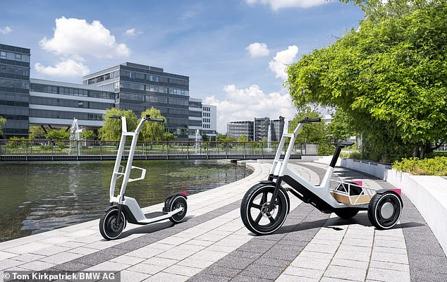 The Clever Commute e-scooter was showcased earlier this week alongside a new Dynamic Cargo e-bike