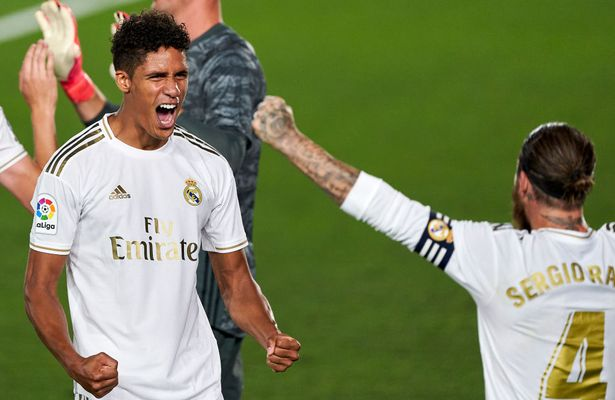 Raphael Varane and Sergio Ramos were a central defensive partnership for Real Madrid over a decade