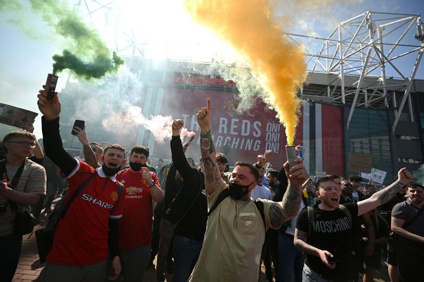 The European Super League proposals sparked mass protests across fans of English football