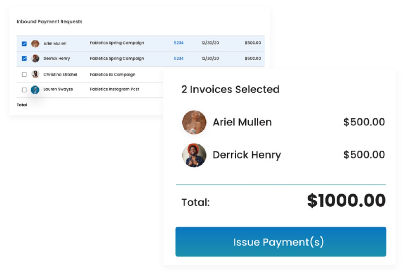 Lumanu can set up payments for creators and their collaborators.