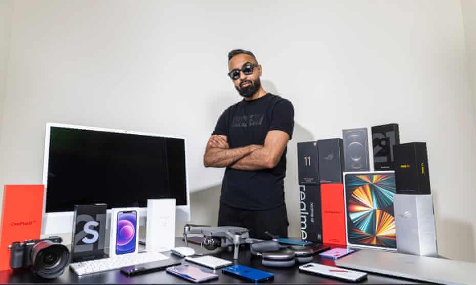 Teviewer Safwan AhmedMia, from Leicester, got into testing after his family kept asking him for 'tech support'.