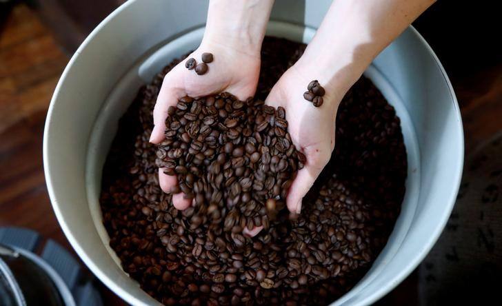 Arabica Coffee Slips With Traders Weighing Brazil Frost Risk