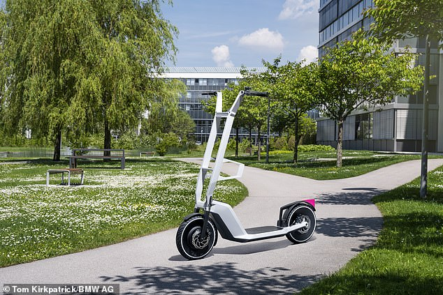 Is BMW entering the e-scooter market? The German brand has showcased its new Clever Commute concept vehicle