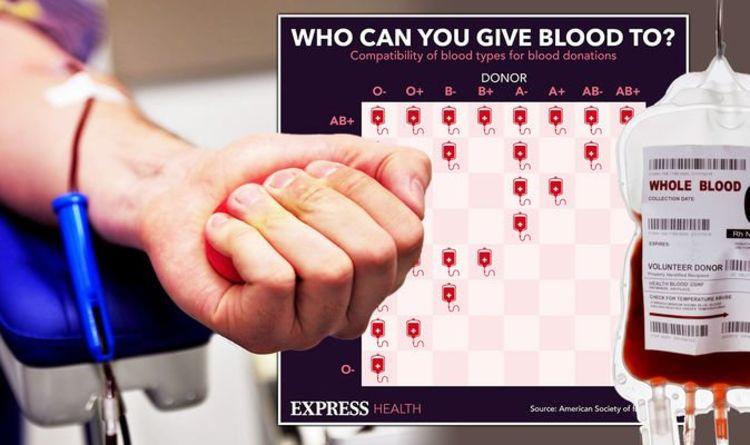 Different blood types: Who can you give blood to? Find out ...
