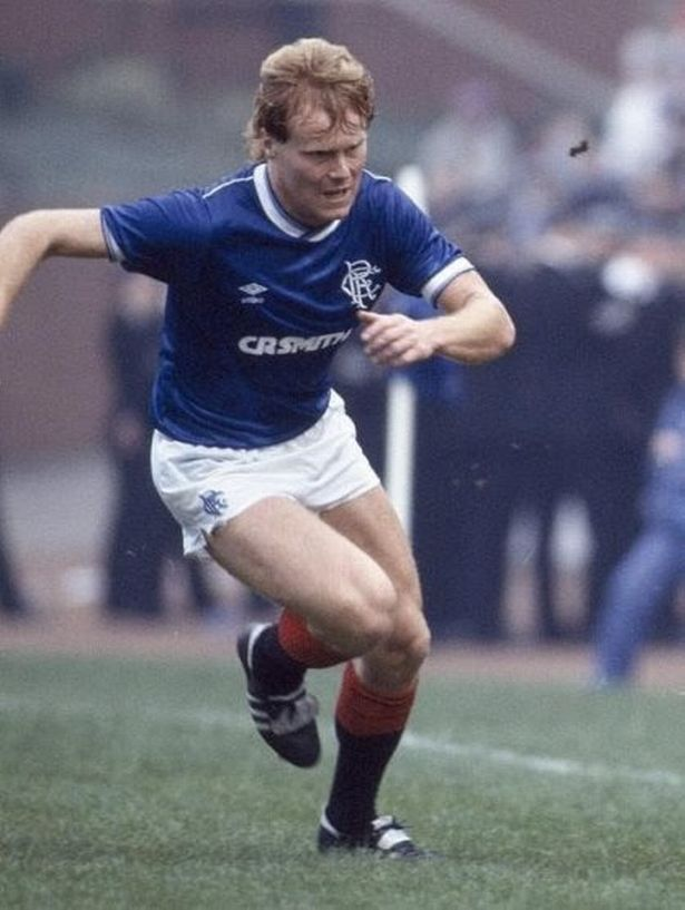 David MacKinnon back when he played for Glasgow Rangers