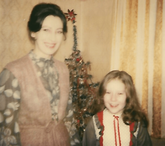 Laura Shaw and mother