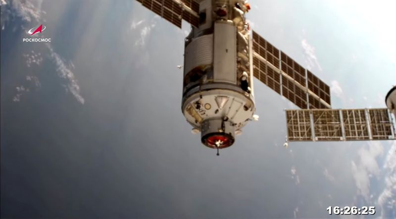 International Space Station thrown out of control by misfire of Russian module -NASA